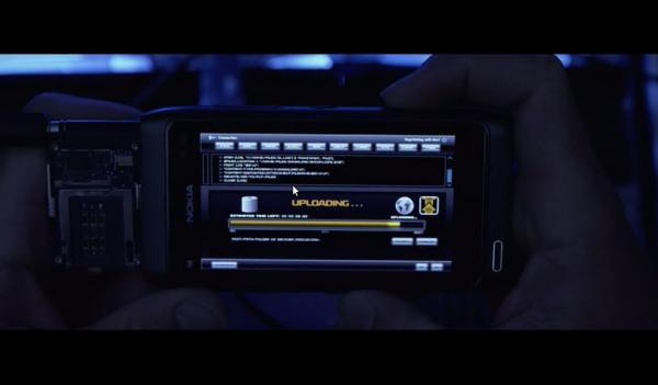Скрытая реклама Nokia в фильме