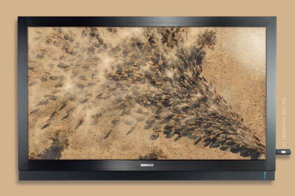 Реклама современного телевизора