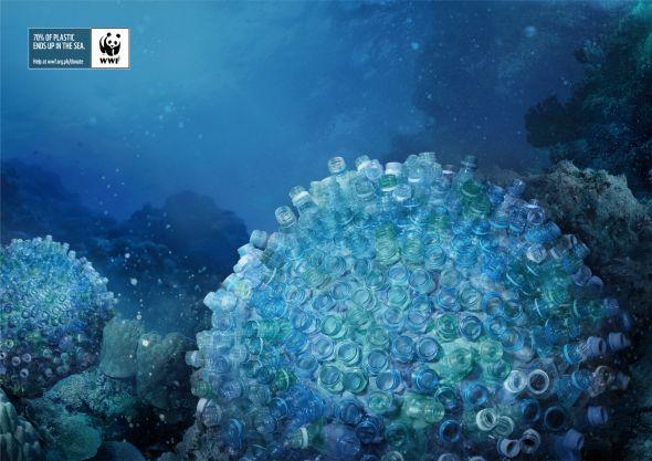 Реклама против загрязнения океана