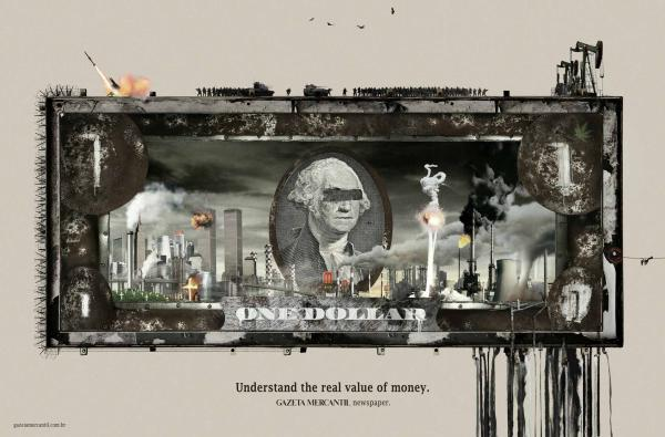 Доллар в рекламе