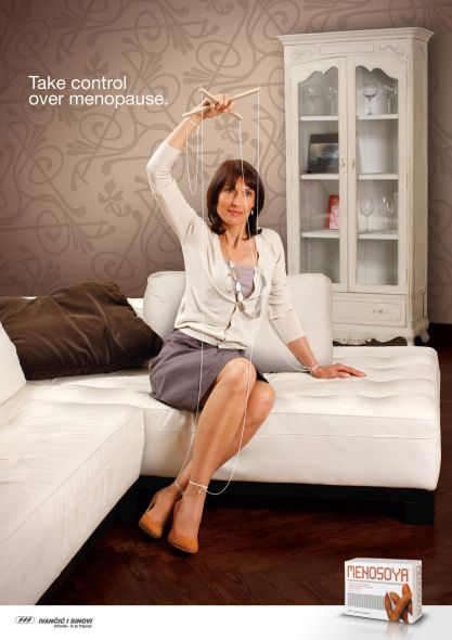 Реклама таблеток для женщин