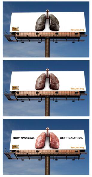Билборд против курения