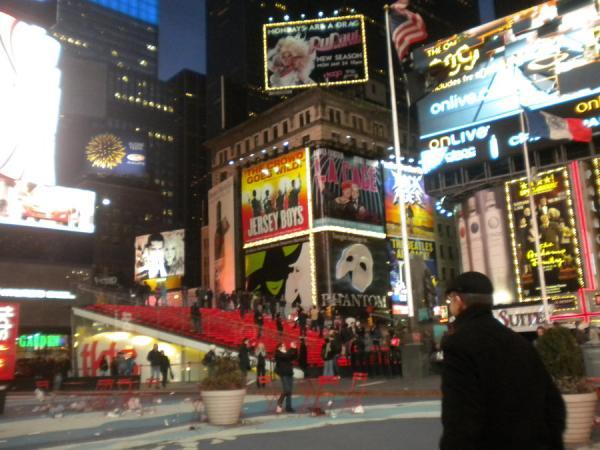 Световая реклама в городе