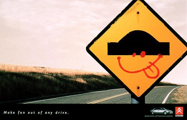 Веселые дорожные знаки