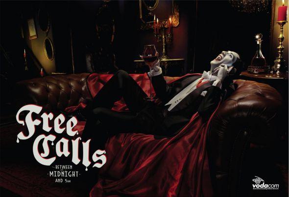 Дракула в рекламе