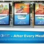 Orbit на рекламе еды
