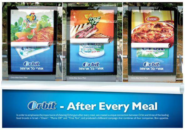 Реклама жевательной резинки Орбит