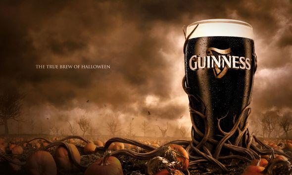 Осенняя реклама пива