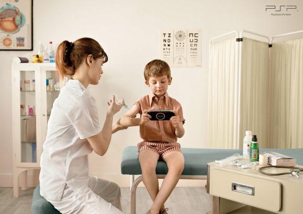 Реклама PSP с детьми