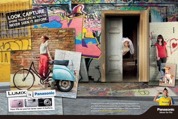 Реклама Панасоник