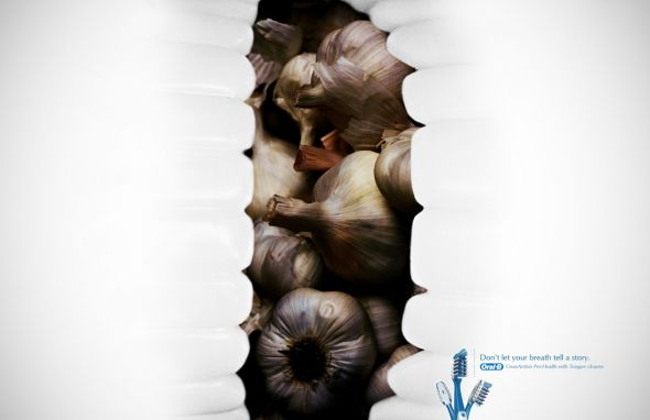 Реклама зубной счетки