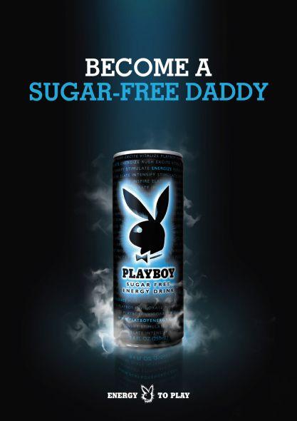 Энергетический напиток ПлейБой