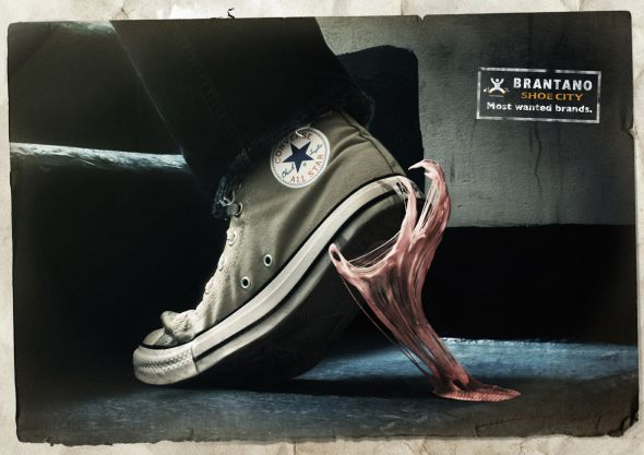 Реклама магазина обуви
