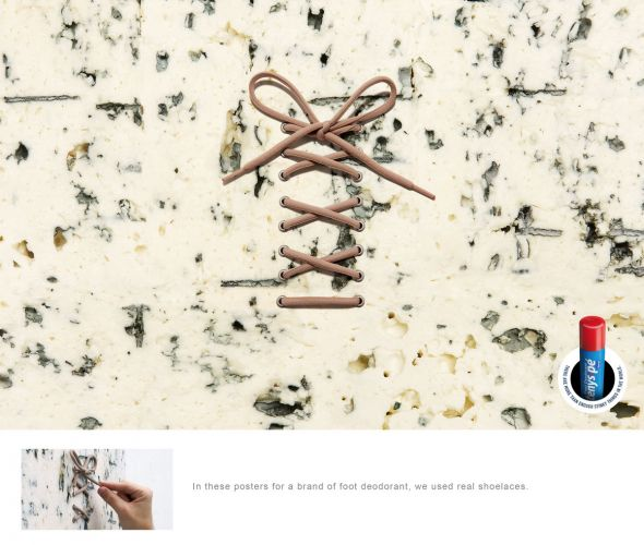 Реклама Реклама дезодоранта для ступней