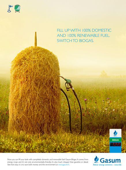 Реклама биогаза