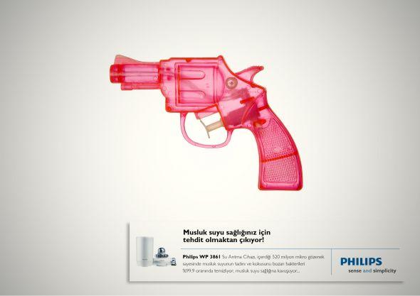 Реклама фильтров для воды Филипс