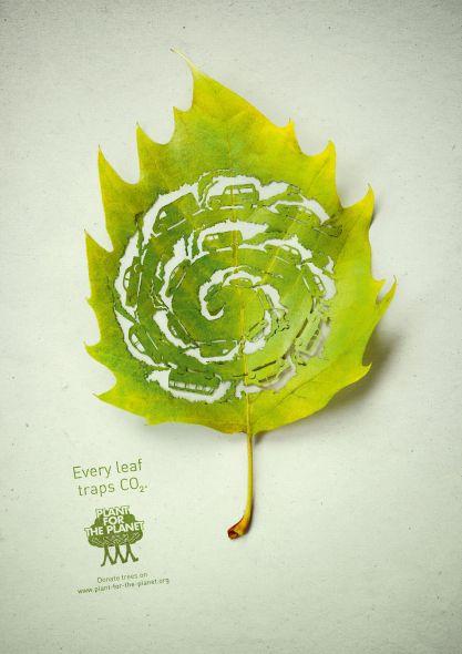 Реклама в защиту лесов