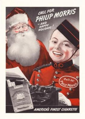 Старая реклама сигарет Philip Morris