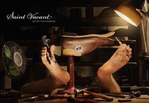 Умная реклама обуви