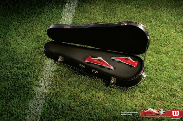 Реклама спортивной обуви