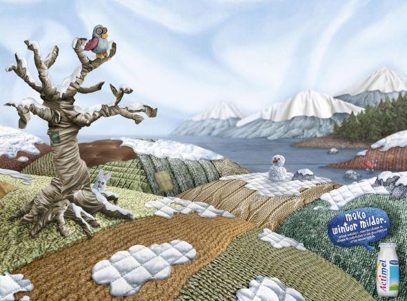Реклама йогурта Danone Actimel