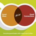 McDonald's McCafé: Хорошие идеи + связи