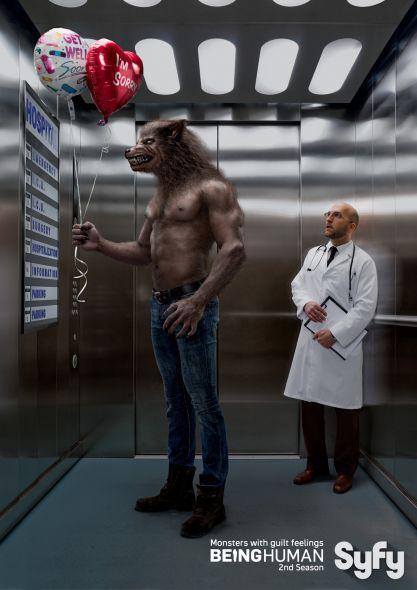 Реклама сериала Быть человеком