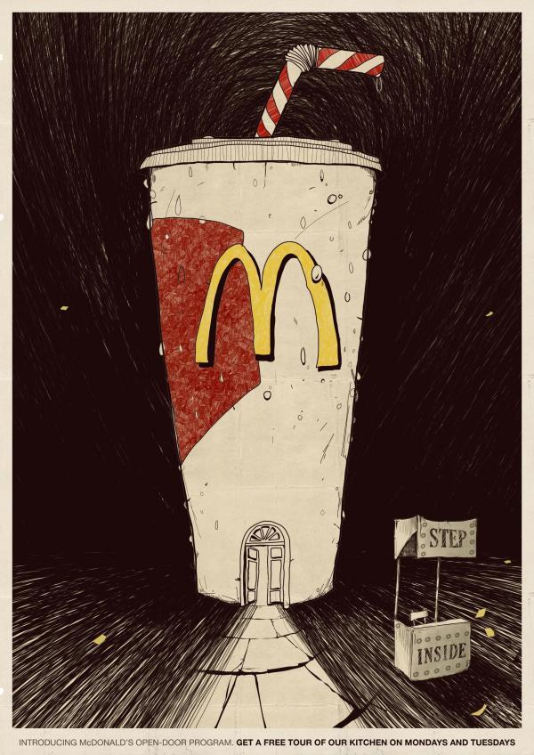 Молочный коктейль McDonald's
