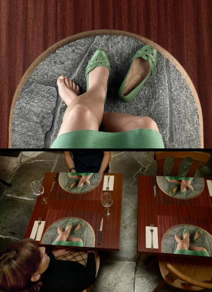 Реклама магазина женской обуви