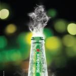 Дух Святого Валентина в пиве Heineken