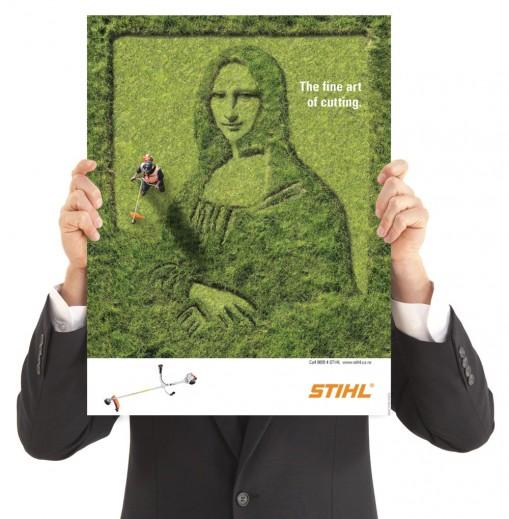 Крутая реклама газонокосилок