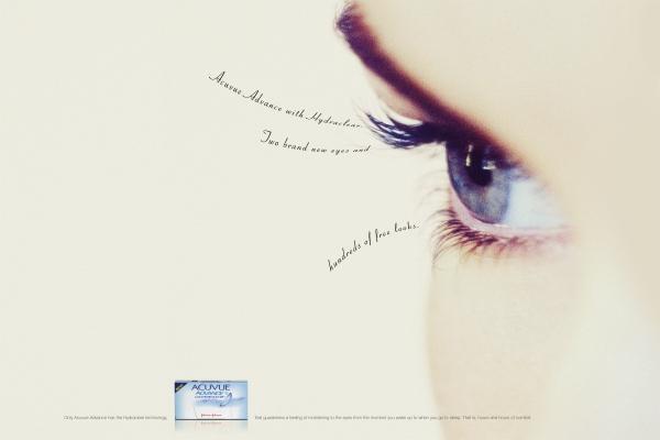Реклама линз