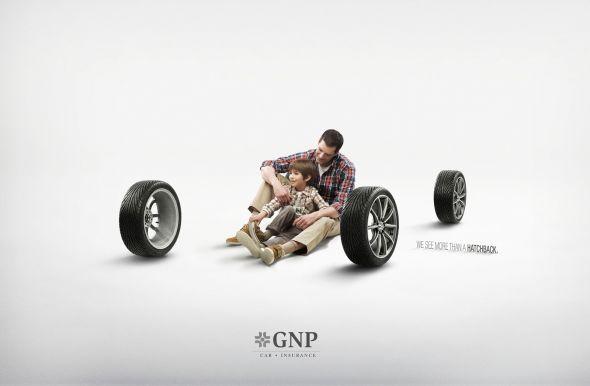Реклама страхования автомобилей