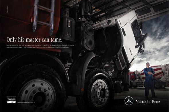 Реклама авто Mercedes
