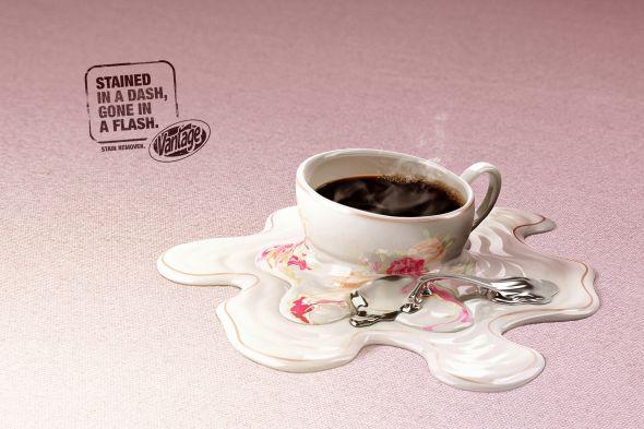 Растворяет кофе