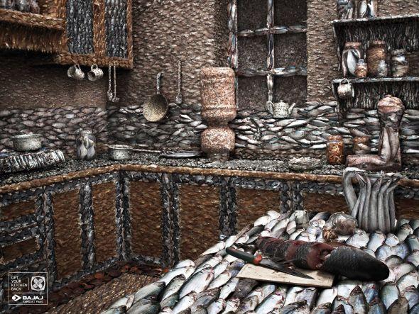 Запах рыбы повсюду