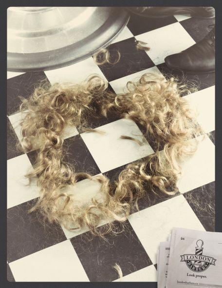 Волосы рокера из 80х