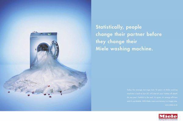 Реклама стиральной машины