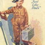 Старая реклама одежды для детей Lee