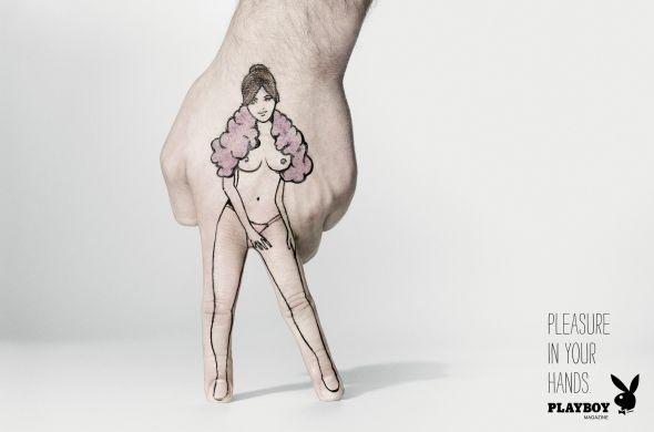 Новая реклама Плейбой