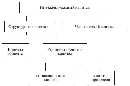 Структура интеллектуального капитала компании Skandia AFS