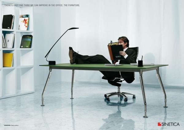 Реклама офисной мебели