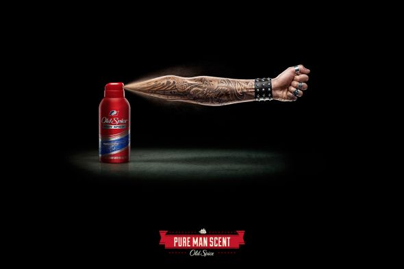 Реклама мужского аромата