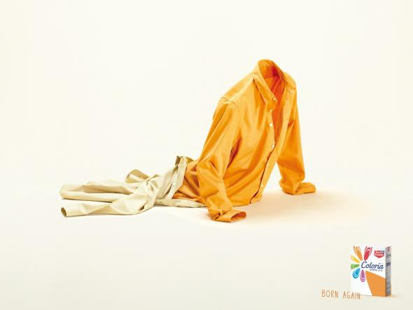 Реклама стирального порошка