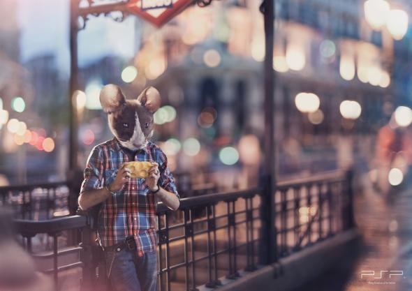 Реклама PSP: Сыр и мышь
