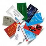 Изготовление визитных карточек в Москве, не выходя из дома