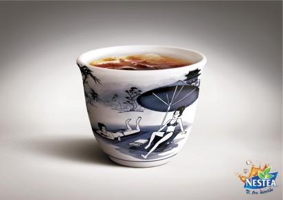Реклама чая Nestea