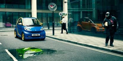 Креативная реклама Smart