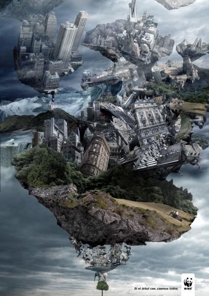 Реклама Всемирного Фонда Дикой Природы