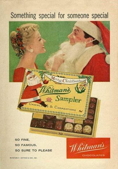 Новогодняя реклама конфет